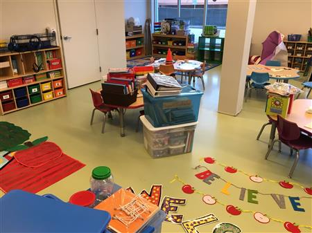 Classrooms stay cleaner and kids breathe easier with low-maintenance PremierOne epoxy floors