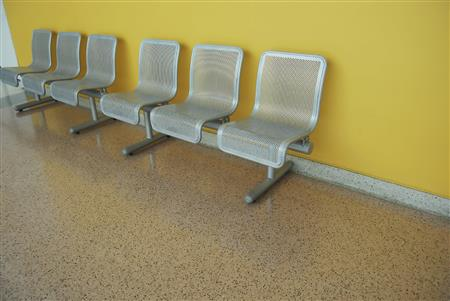 This decorative texture epoxy floor coating is ideal for hallways, offices, general areas and classrooms