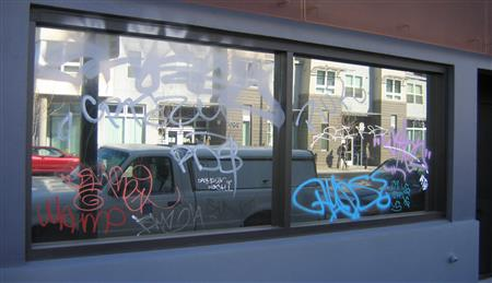 Protect your business from unwanted graffiti