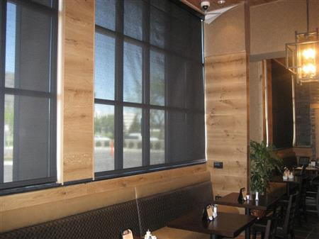 Solar shades block hot and harmful UV rays