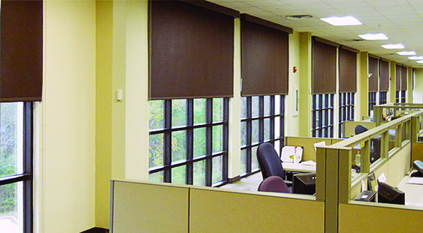 Great ... Coordinate With Your Office Décor And Control Sun Glare With Office  Shades.