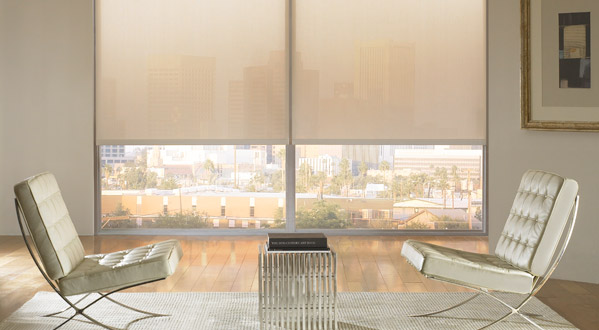 Motorized Blinds Help Set The Right Mood In Your Condo Throughout Day With A Push Office