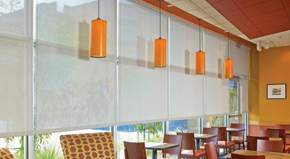 Restaurant shades restaurant windows bb commercial for Restaurant window design